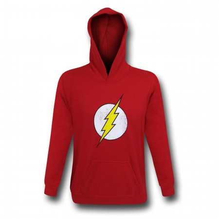 Flash Distressed Symbol Youth Hoodie