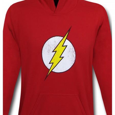 Flash Distressed Symbol Youth Hoodie