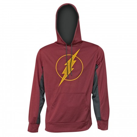 Flash Symbol High Def Ink Men's Hoodie