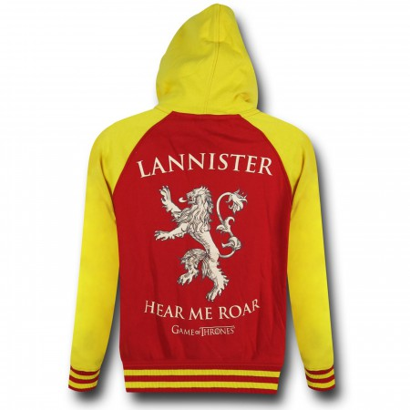 Game of Thrones Lannister Zip-Up Hoodie