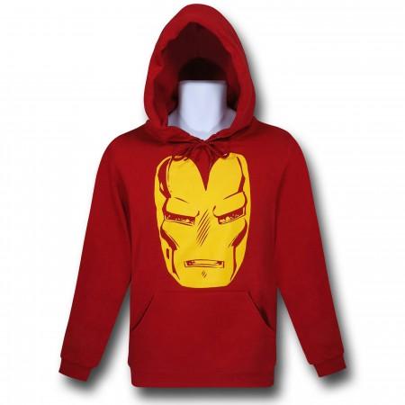 Iron Man Big Helmet Pullover Hoodie