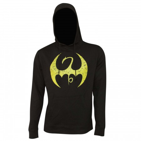 Iron Fist Distressed Symbol Men's Hoodie