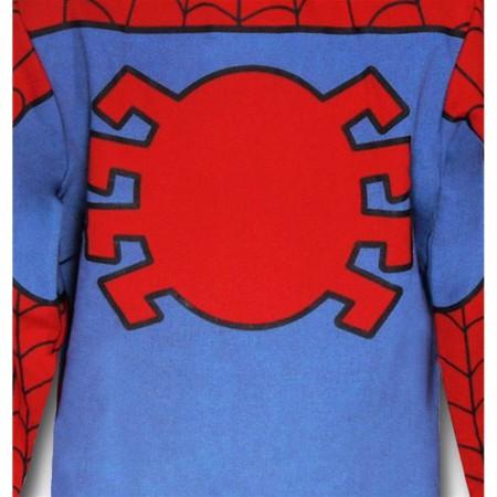Spiderman Kids Costume Hoodie
