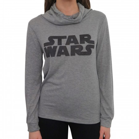 Star Wars Classic Logo Women's Cowl Sweater