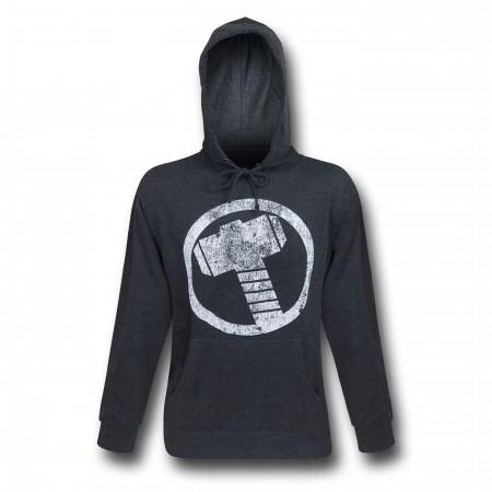 Thor Hammer Symbol Men's Hoodie