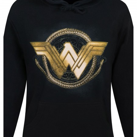 Wonder Woman Movie Golden Lasso Men's Hoodie