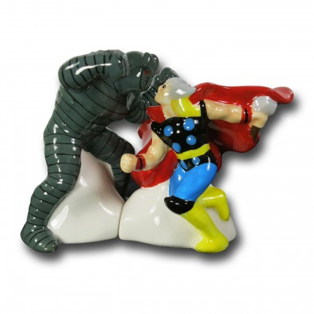 Thor Vs. The Destroyer Salt & Pepper Shakers