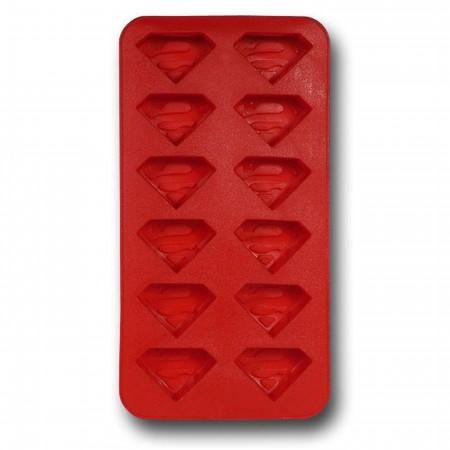 Superman Symbols Ice Cube Tray