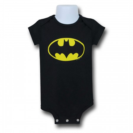 Batman Large Symbol Infant Snapsuit