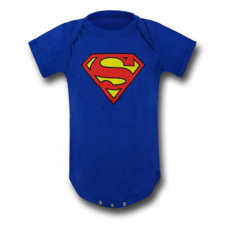 Superman Classic Symbol Infant Snapsuit