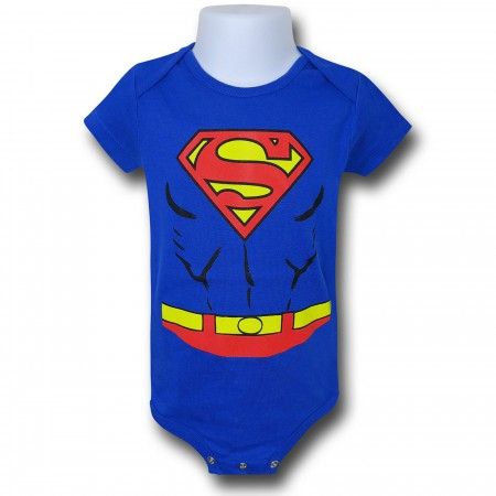 Superman Costume Infant Snapsuit