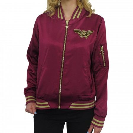 Wonder Woman Movie Logo Women's Bomber Jacket