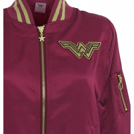 Wonder Woman Movie Logo Women's Bomber Jacket