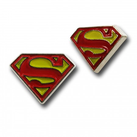 DC Comics Enamel Fill Earring Set