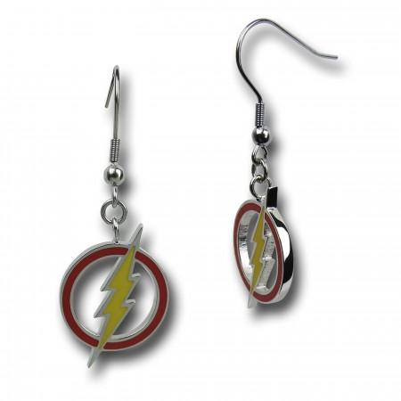 Flash Bolt Dangle Earrings