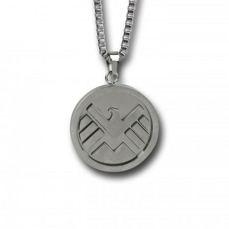 Shield Symbol Pendant Necklace