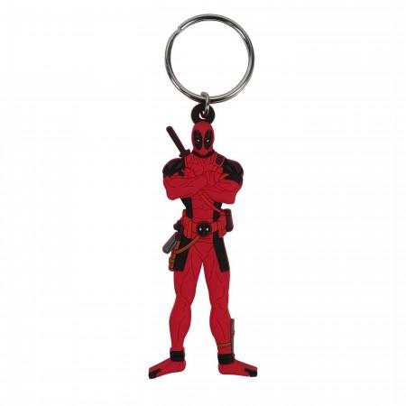 Deadpool Stance PVC Keychain