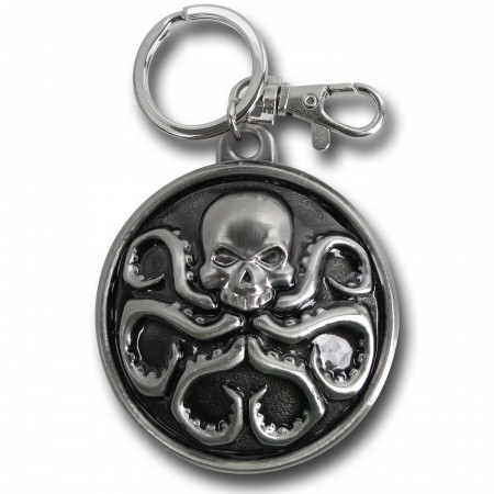 HYDRA Logo Pewter Keychain