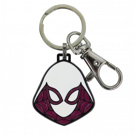 Spider-Gwen Stainless Steel Keychain