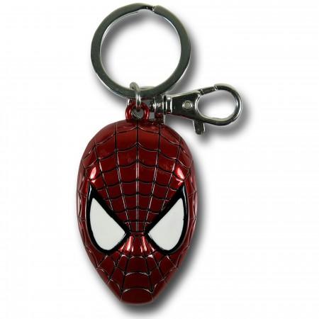Spider-Man Color Head Keychain