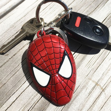 Spider-Man Color Head Keychain