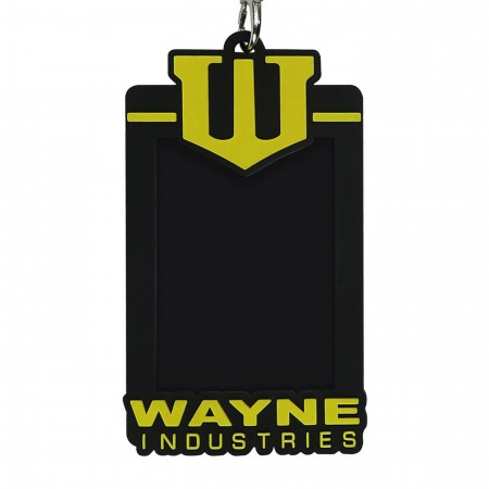 Wayne Industries Lanyard with Rubber ID Holder