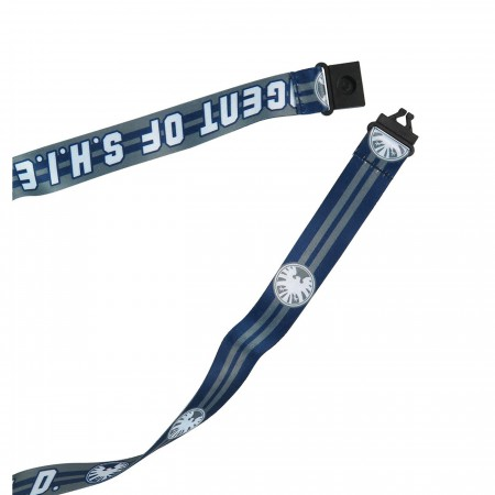 SHIELD Logo Lanyard with Rubber ID Holder