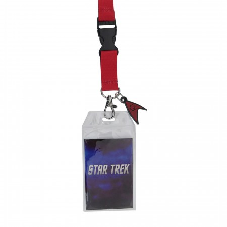 Star Trek Engineering Lanyard with PVC Charm