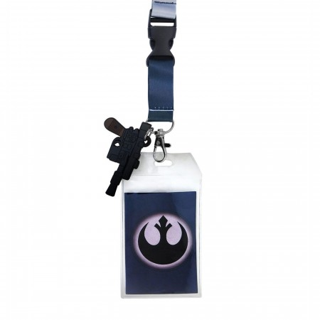 Star Wars Han Solo Hoth Lanyard with PVC Charm