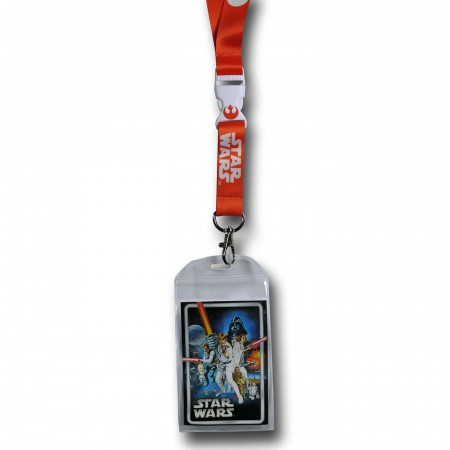 Star Wars Rebel Alliance Orange Lanyard