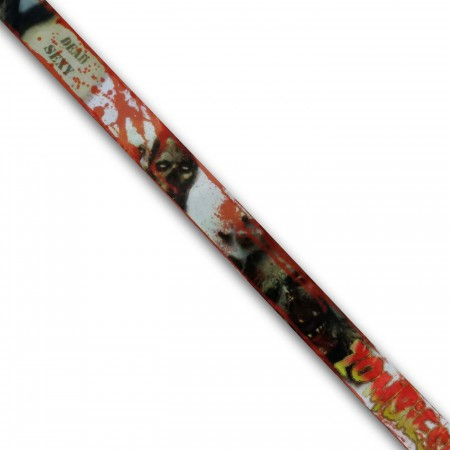 Zombies All-Over Print Lanyard w/Head Charm