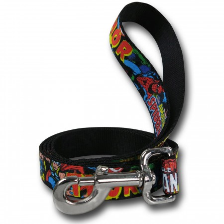 Marvel Characters Dog Leash