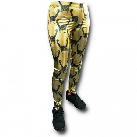Loki Women's Gold Leggings