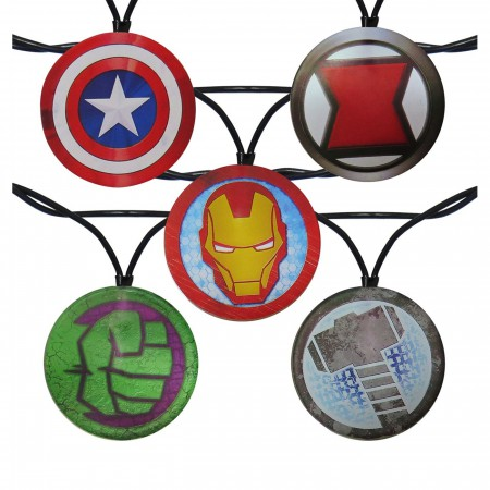 Avengers Symbols String Light Set