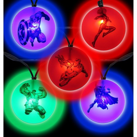 Avengers Symbols String Light Set
