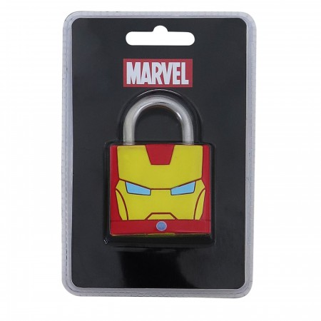 Iron Man Helmet Padlock
