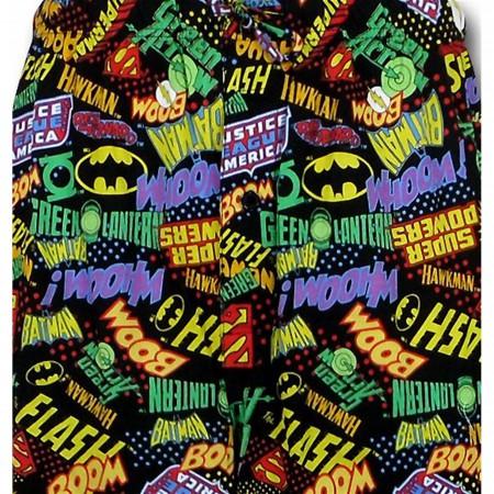 DC Comic Favorites Symbol Slam Lounge Pants