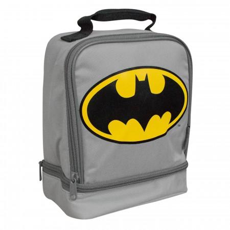 Batman Costume Dual Soft Lunchbox