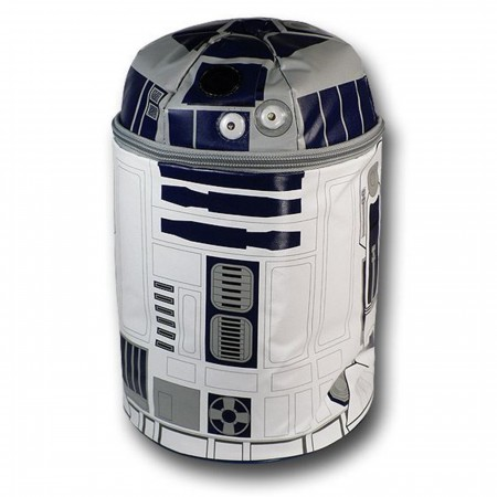 Star Wars R2D2 Soft Lunch Box w/Lights & Sound