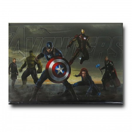 Avengers Age of Ultron Group Magnet