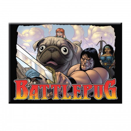 BattlePug Group Magnet