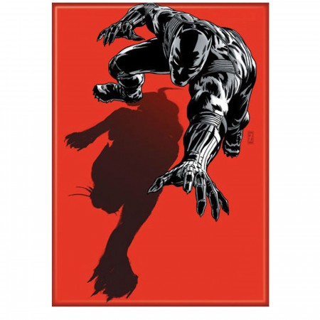 Black Panther Red Magnet