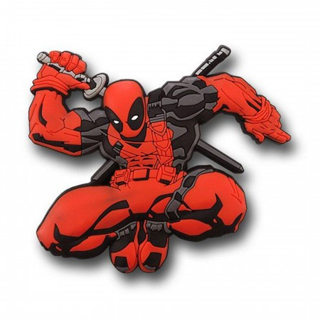 Deadpool 3D Die Cut Rubber Magnet