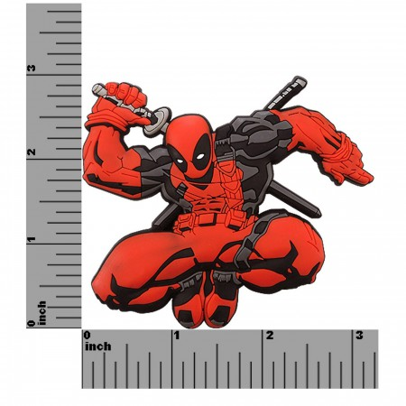 Deadpool 3D Die Cut Rubber Magnet