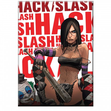 Hack Slash Kiss It Magnet