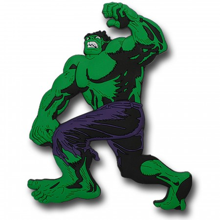Hulk No Like Spiders 3D Die Cut Magnet