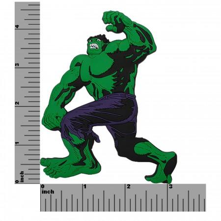 Hulk No Like Spiders 3D Die Cut Magnet