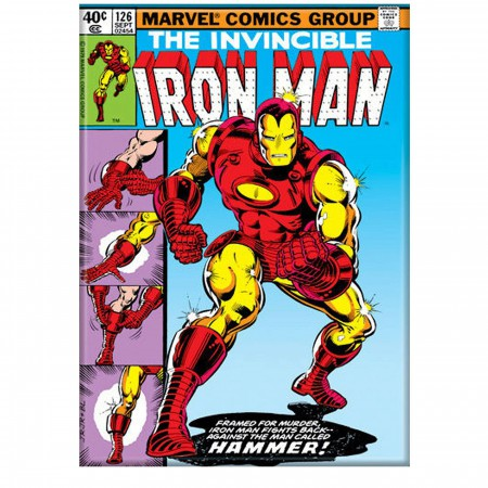 Iron Man Suit Up Comic Cover Magnet