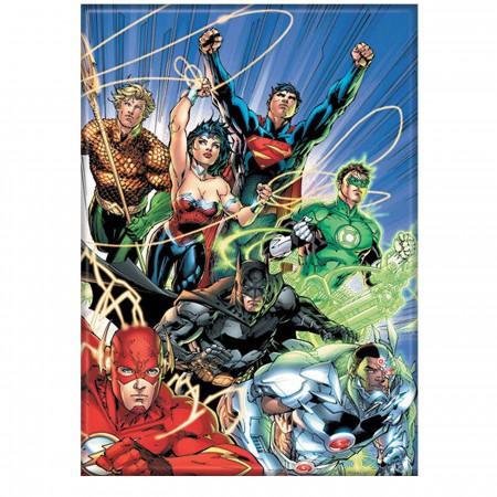 JLA DC Relaunch #1 Magnet