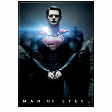Superman Man of Steel Handcuffed Magnet